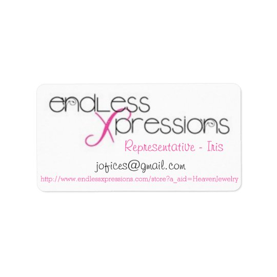 Endless Xpressions Avery Print-to-the-Edge Address Address Label