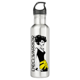 ENDO WARRIOR Water Bottle (24 oz), Stainless Steel