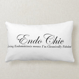 EndoChic Chronically Fabulous Lumbar Cushion