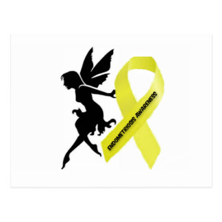 endofaerie endo awareness postcard