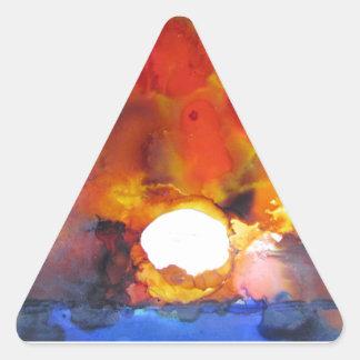 EndOfTNight$500.JPG Triangle Sticker