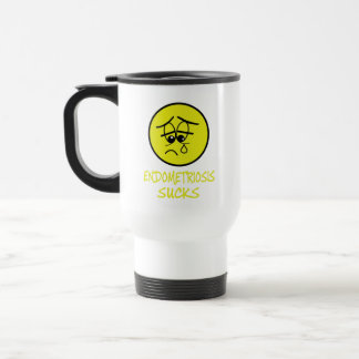 Endometreosis sucks travel mug