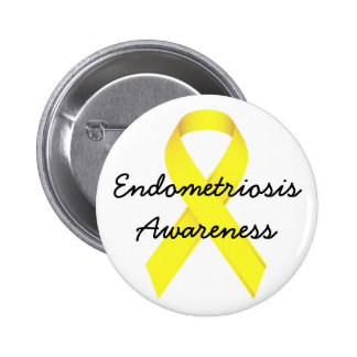 Endometriosis Awareness Pin