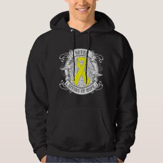 Endometriosis Never Giving Up Hope Sweatshirts