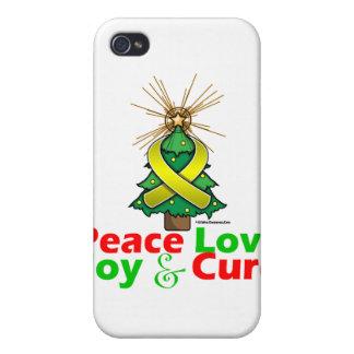 Endometriosis Peace Love Joy Cure iPhone 4/4S Cover