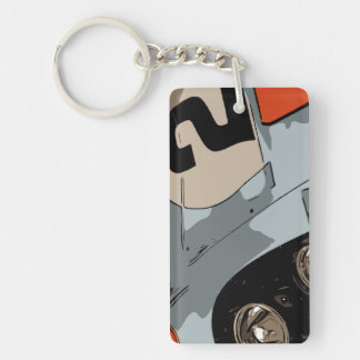 ENDURANCE RACER - #2 KEY RING