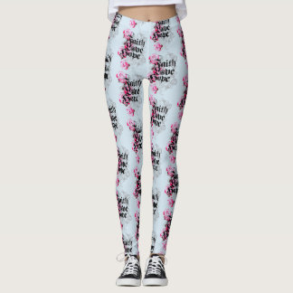 ENDURE FAITH HOPE AND LOVE LEGGINGS