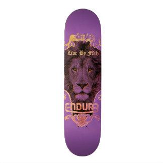 ENDURE LION HEAD SKATEBOARD DECK