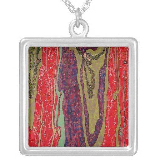 Endure (painting) necklace