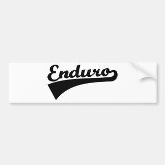 Enduro Bumper Sticker