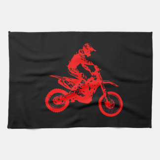 Enduro talk tea towel