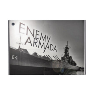 Enemy Armada Ship logo iPad mini case