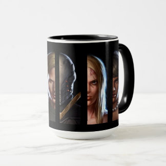 """Enemy One"" Character Collage Mug"