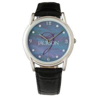 Energetic Bling | Name Cool Blue Purple Teal | Watch