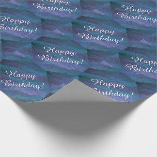 Energetic Blue Purple Teal Texas Storm Birthday