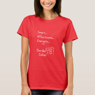 Energetic border collie T-Shirt
