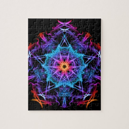 Energetic Geometry - The Magi's Wish Jigsaw Puzzle