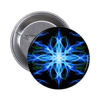Energetic Geometry- Water Element - abstract Pinback Buttons
