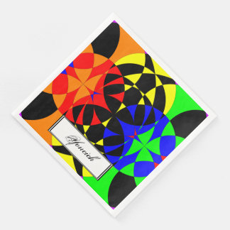 Energize by Kenneth Yoncich Disposable Napkin