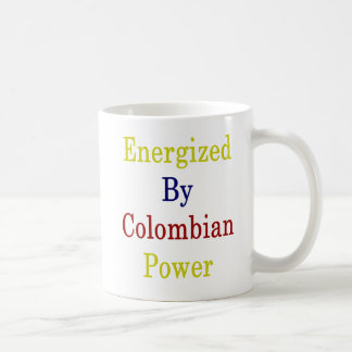 Energized By Colombian Power Coffee Mug