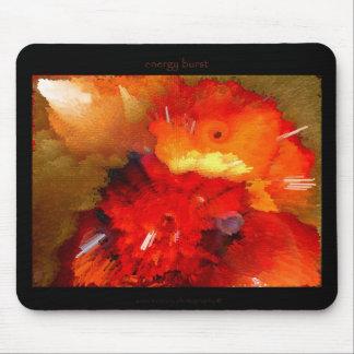 energy burst mouse pad