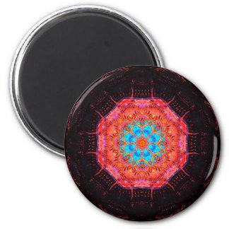 Energy Computer Chip Mandala Magnet