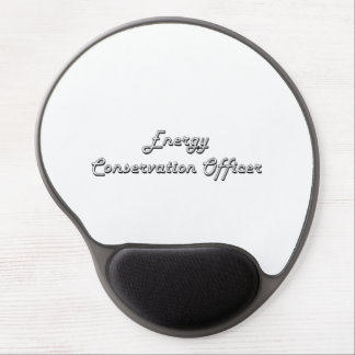 Energy Conservation Officer Classic Job Design Gel Mouse Pad
