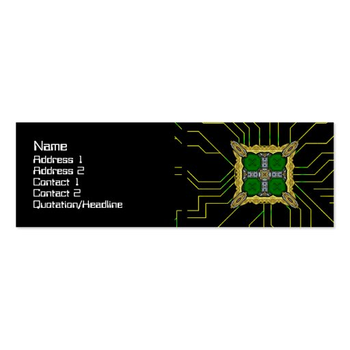 Energy Core Heavy Duty Business Cards