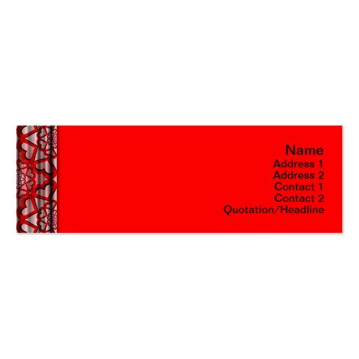 Energy Core Heavy Duty Small Business Card