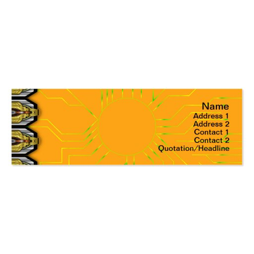 Energy Core Heavy Duty Small Business Cards