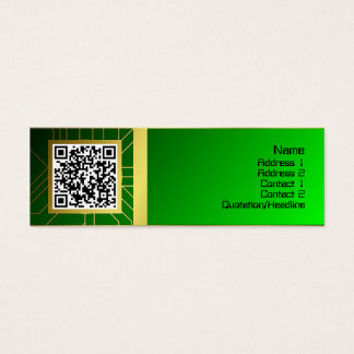 Energy Core Heavy Duty Small Mini Business Card