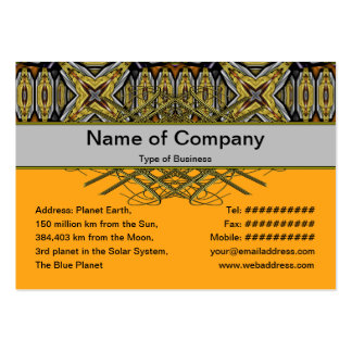 Energy Core Xtreme Small Business Card Templates