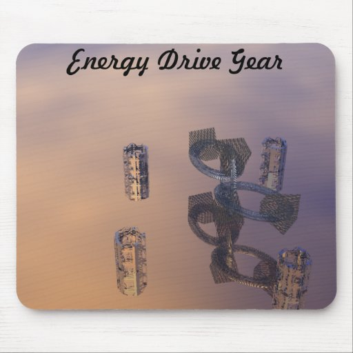 Energy Drive Gear CricketDiane Design Art Products Mouse Pads