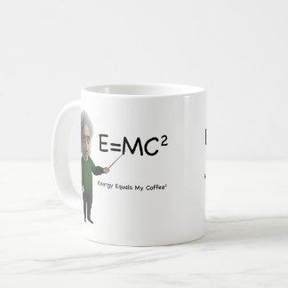 Energy Equals My Coffee Coffee Mug