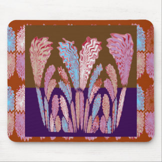 Energy Flames :  Colorful Fireworks Mouse Pad