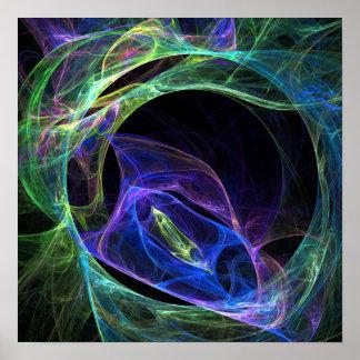 Energy Fractal Print