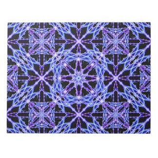 Energy Grid Mandala Notepad