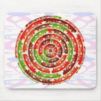 Energy Healing Chakra - Futuristic Designs Mouse Pad
