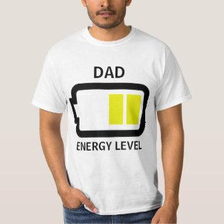 Energy Level Dad Shirt