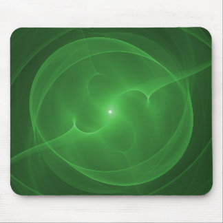 Energy Orb Green Mousepads