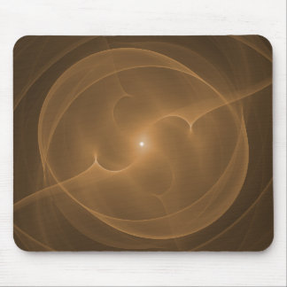 Energy Orb Orange Mouse Pads
