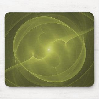 Energy Orb Yellow Mousepad
