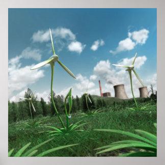 Energy Plant 2 Canvas Print