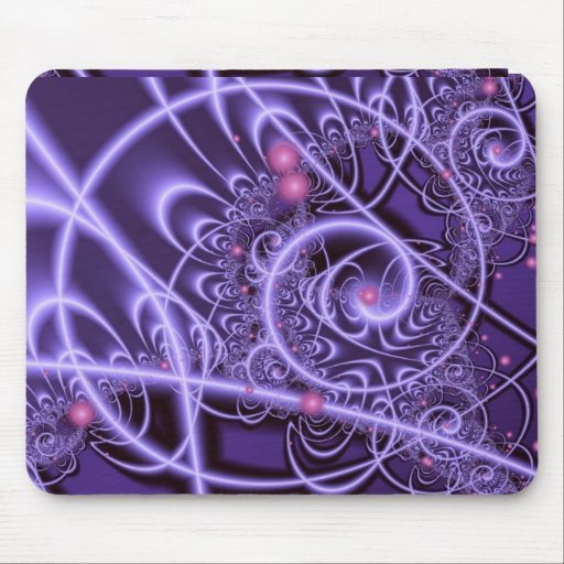 Energy Purple Passion Mouse Pads