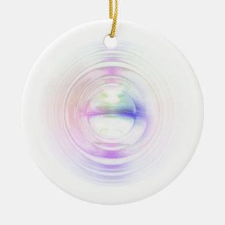 Energy Round Ceramic Decoration