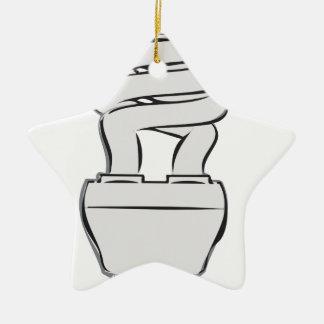 Energy Saving Light Ceramic Ornament