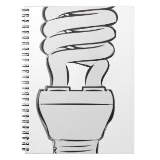 Energy Saving Light Notebooks