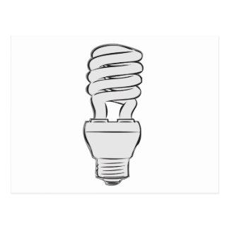 Energy Saving Light Postcard
