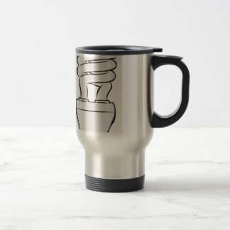 Energy Saving Light Travel Mug