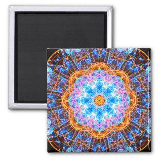 Energy Star Mandala Square Magnet